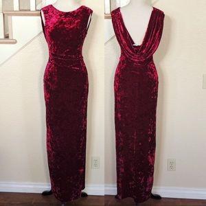 Vince Camuto gorgeous velvet gown